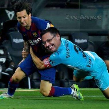 Los memes de Messi tras permanencia en el Barcelona de Bartomeu