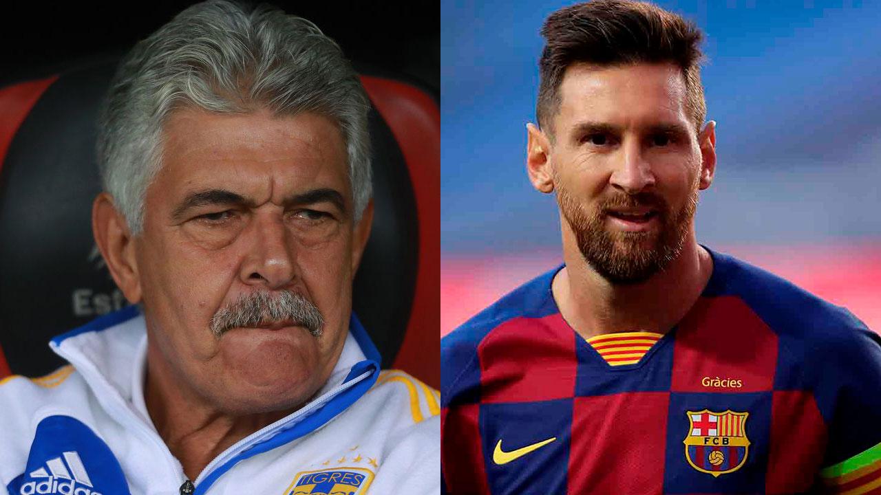 Tuca Ferretti consideró el fichaje de Lionel Messi para Tigres