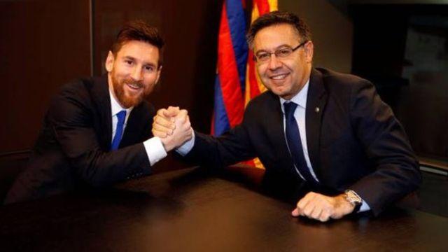 Messi y Josep Maria Bartomeu no llegaron a ningún acuerdo