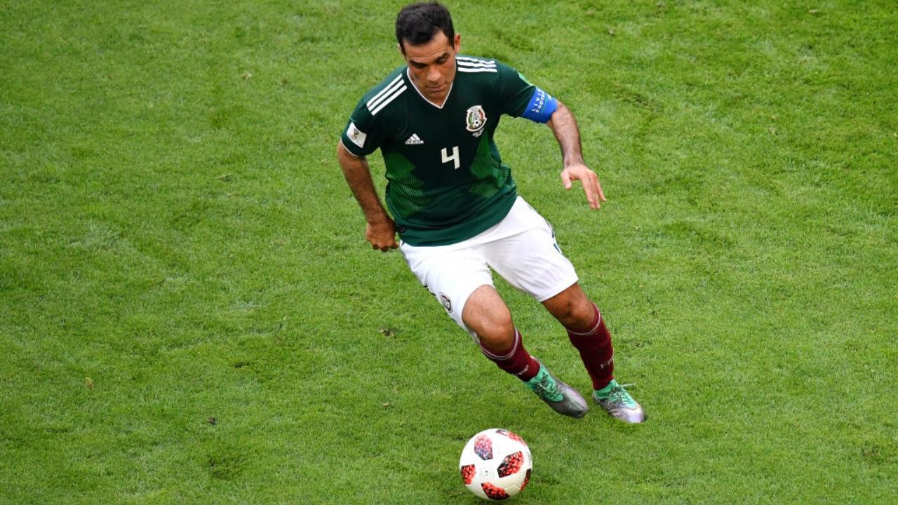 Rafa Marquez en su último partido