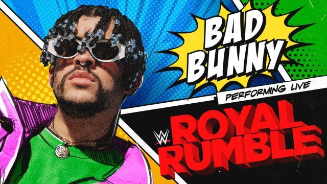 Bad Bunny en Royal Rumble 2021