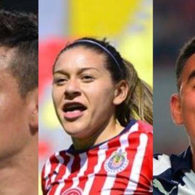 Chucky Lozano, Norma Palafox y Carlos Rodríguez