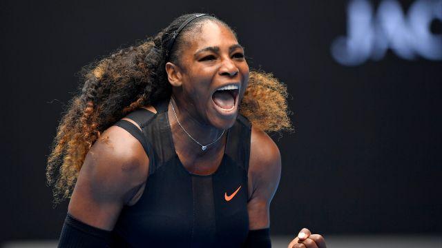 Serena Williams es de las mejores tenistas de la historia