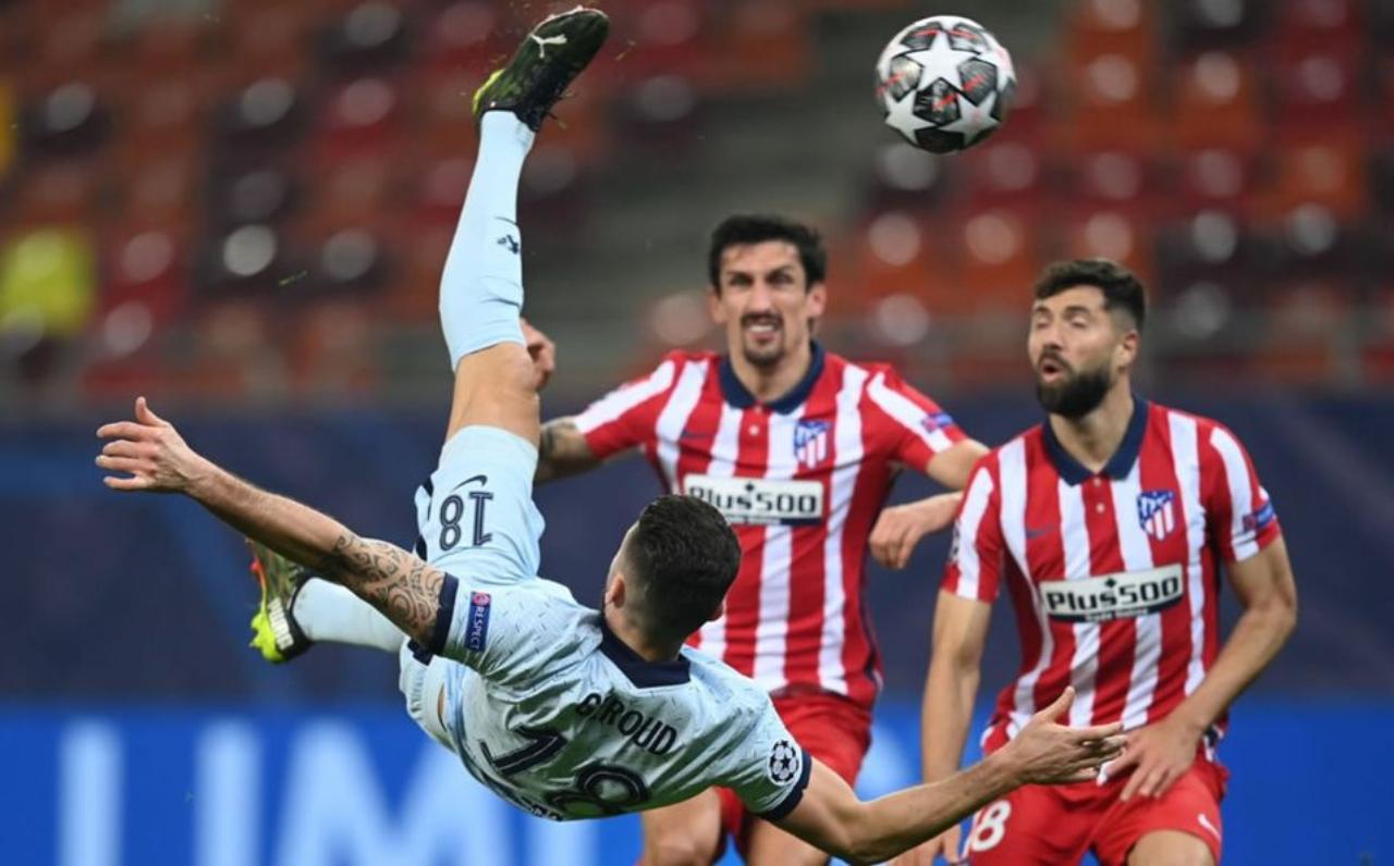 Chelsea y Atlético de Madrid en la Champions League