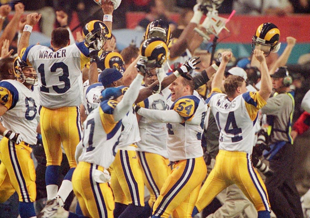 Rams ganando super Bowl