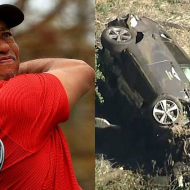 Tiger Woods accidente automovilístico