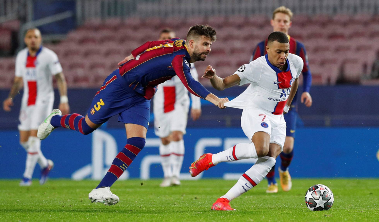 Barcelona PSG UEFA Champions League