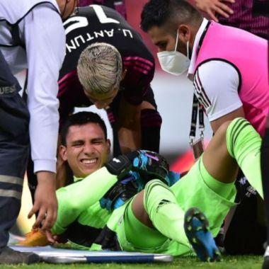 Luis Malagón lesión luxación