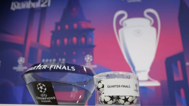 Sorteo UEFA Champions League cuartos de final