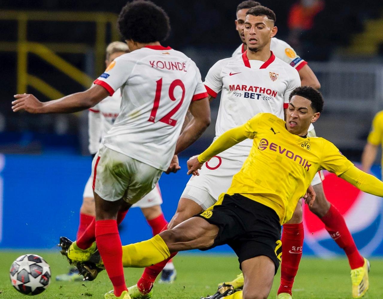 Sevilla y Dortmund octavos de final vuelta champions