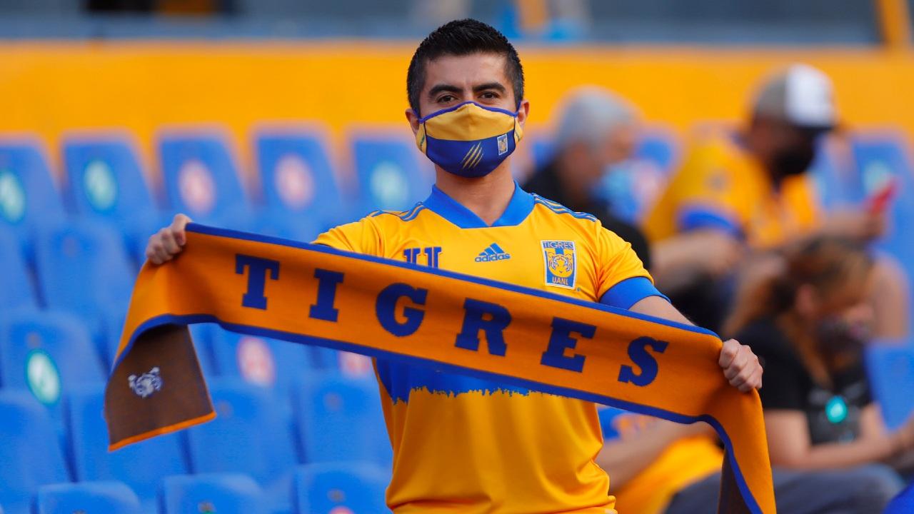 aficionado tigres volcan nuevo leon futbol liga mx