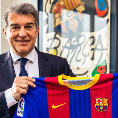Joan Laporta respaldo necesaria Superliga Florentino