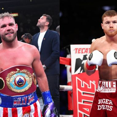 Billy Joe Saunders sospecha pelea Canelo