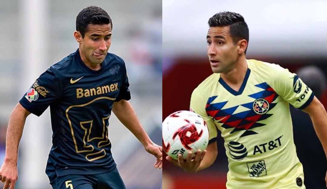 América Pumas jugadores ambos equipos Luis Fuentes