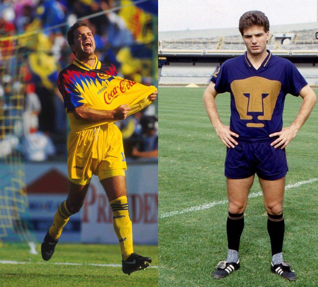 América Pumas jugadores ambos equipos Luis García
