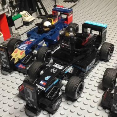 Gran Premio de Bahréin formula 1 f1 legos