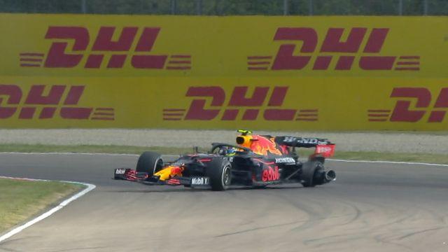 Sergio 'Checo' Pérez accidente formula 1 ocon