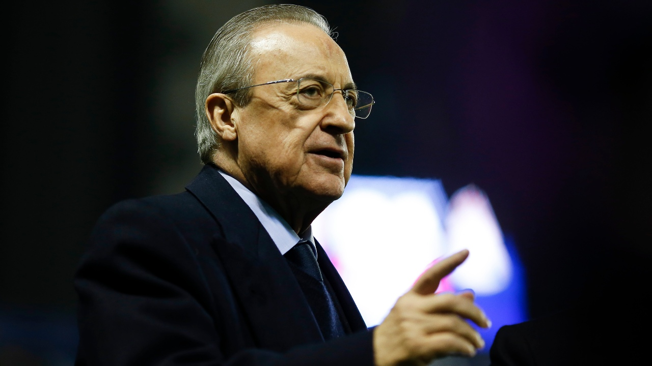 Florentino Pérez superliga europea jovenes fútbol