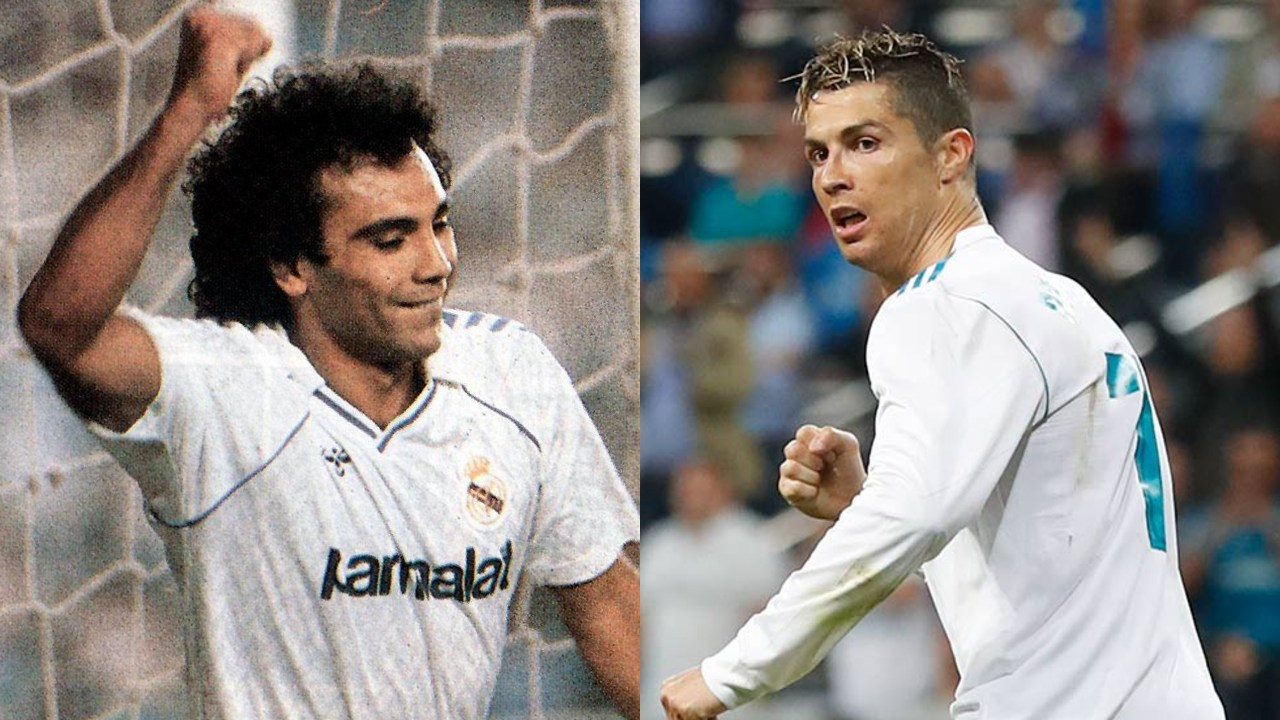 Hugo Sánchez labor Cristiano Real Madrid