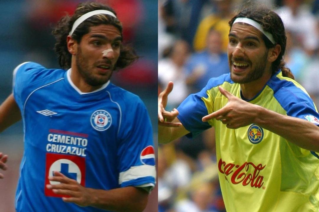 América Cruz Azul jugadores equipos Loco Abreu