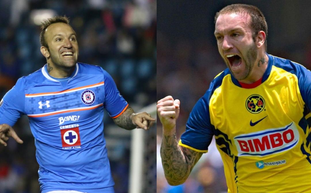 América Cruz Azul jugadores equipos Vuoso