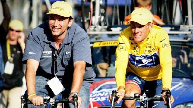 Lance Armstrong bicicletas motor Tour de Francia
