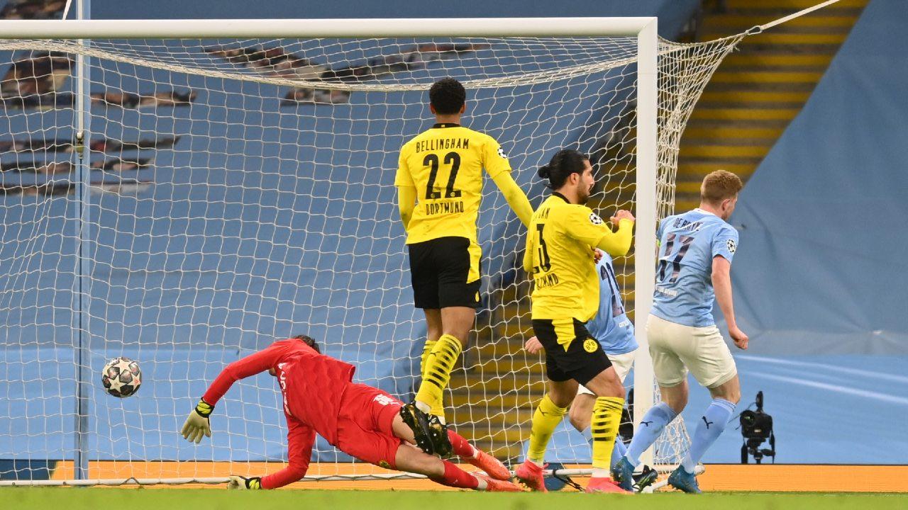 Manchester City Borussia Dortmund champions league