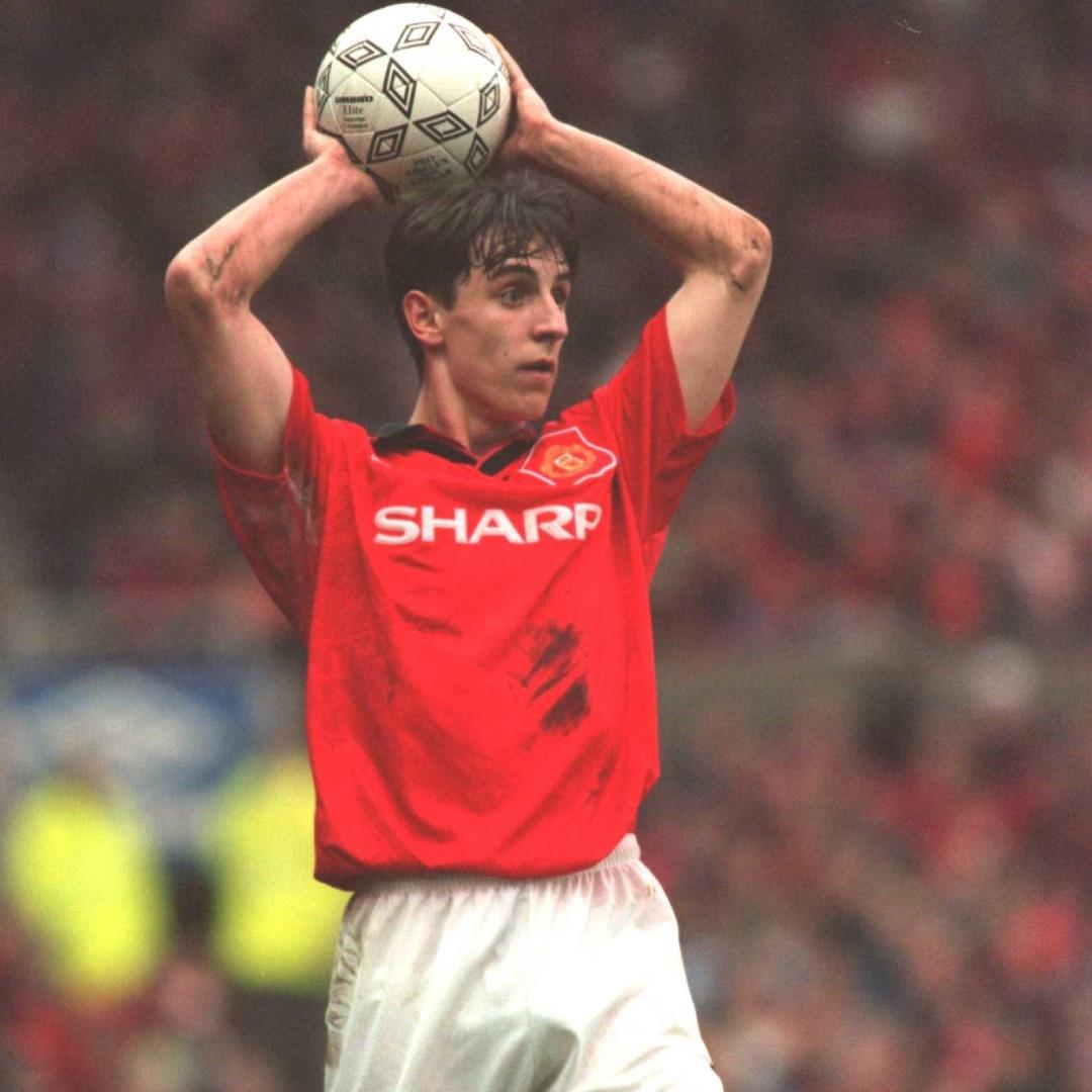 Manchester United jugadores con más partidos Gary Neville