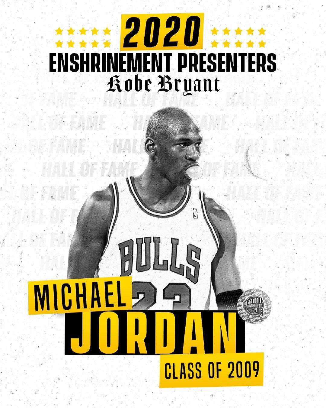 Michael Jordan Kobe Bryant Salón de la Fama