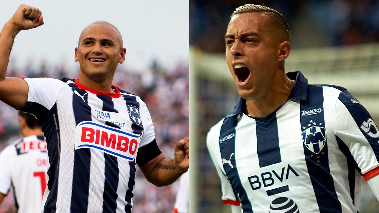 Monterrey Rayados goleadores historia club