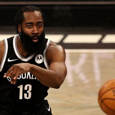 nba Brooklyn Nets james harden lesión