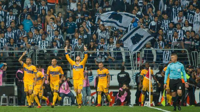Rayados Tigres estadios aficionados Liga BBVA MX