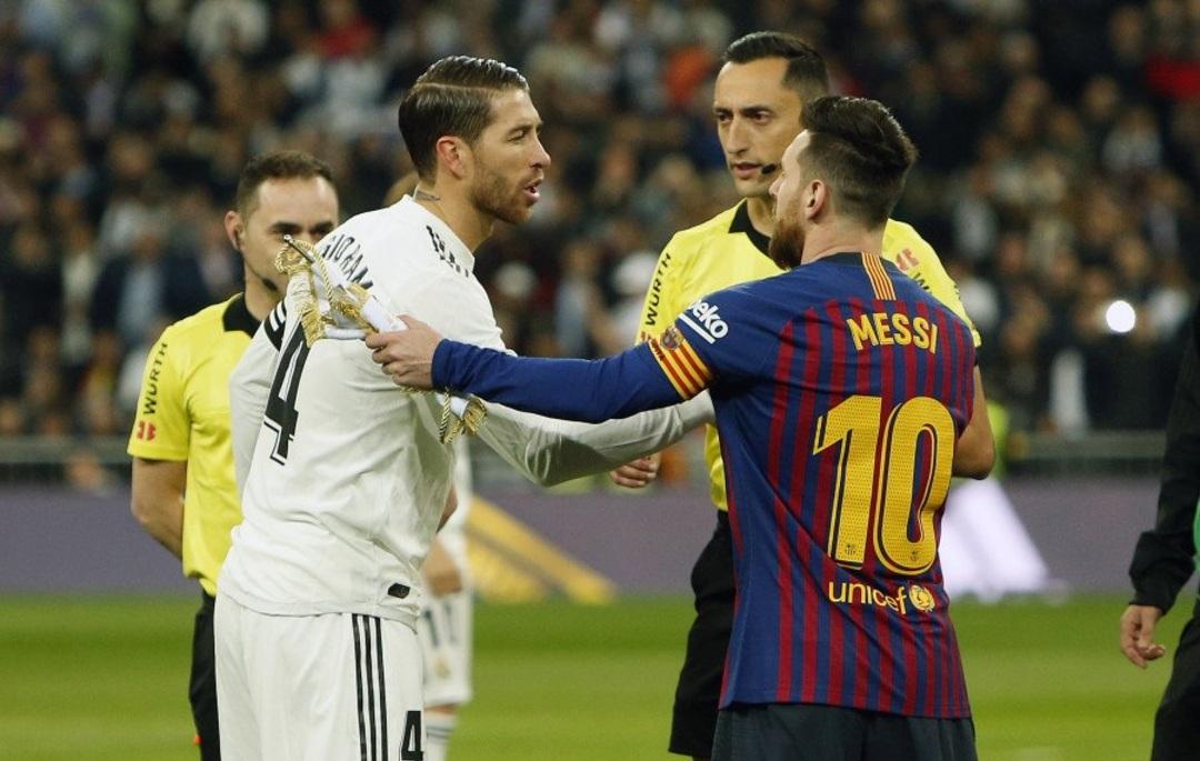 Sergio Ramos títulos Real Madrid Messi