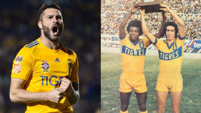 Tigres máximos goleadores en la historia