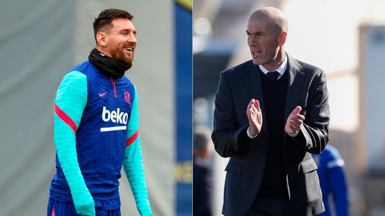 Zidane Messi continúe Barcelona LaLiga Clásico