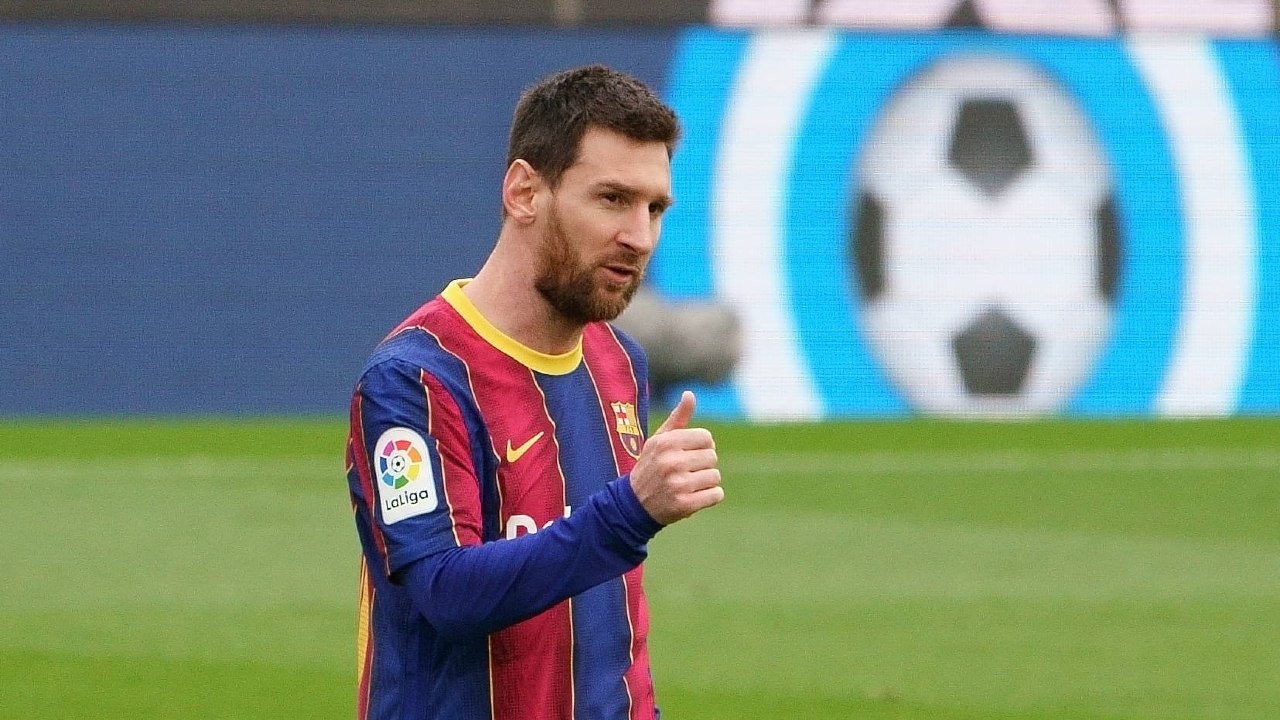 Zidane Messi desea siga en Barcelona