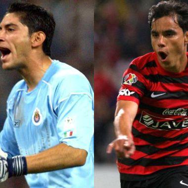 Jugadores que han vestido las playeras de Chivas y Atlas