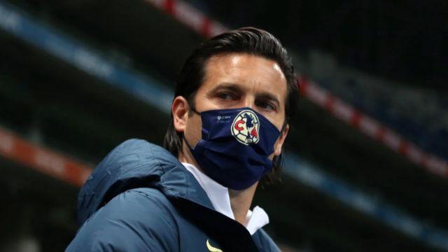 Club América Santiago Solari en Concachampions