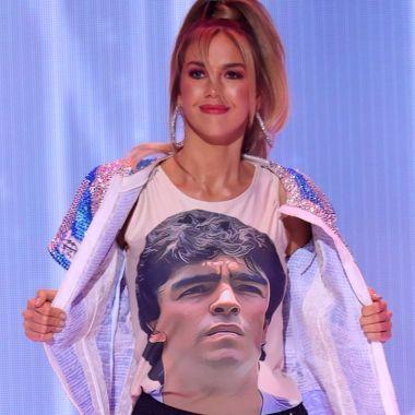 Alina Akselrad diego maradona miss universo