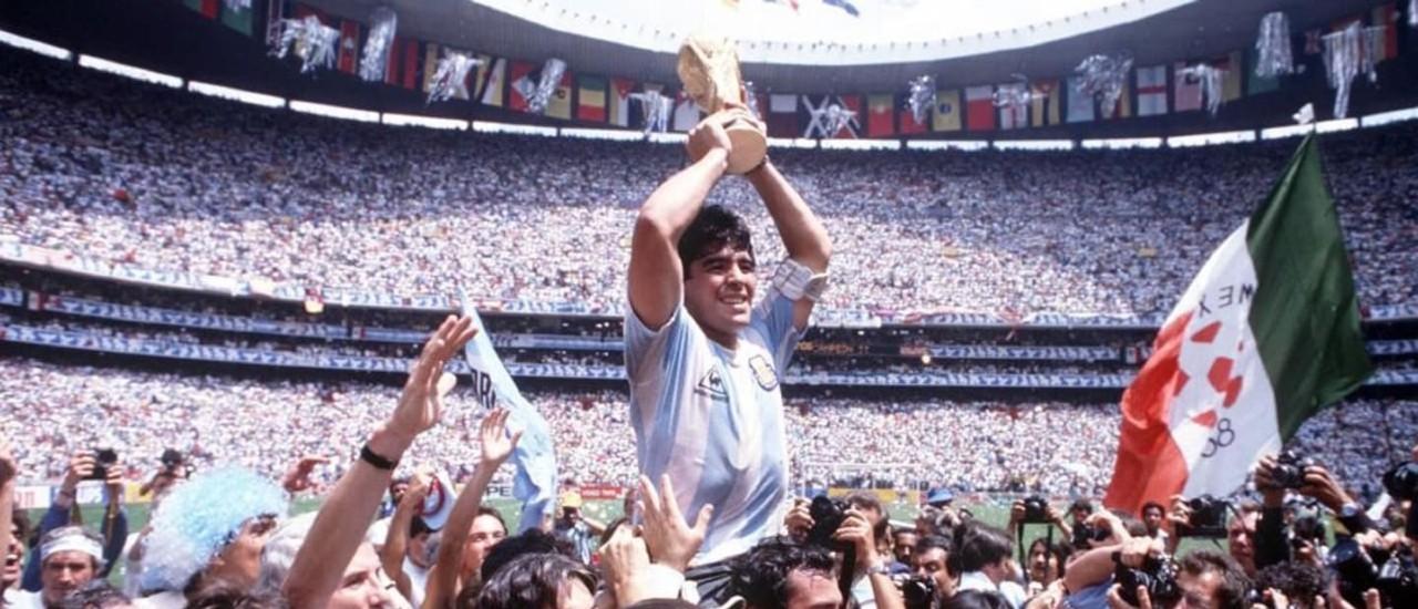 Inauguración Estadio Azteca Diego Armando Maradona 1986