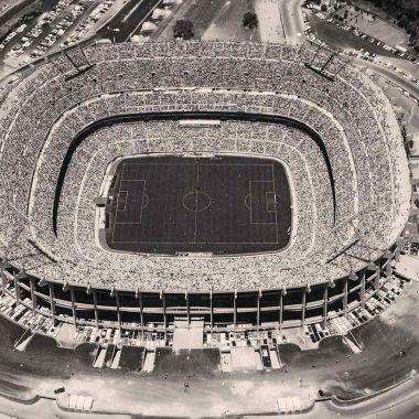 Estadio Azteca inauguración 1966 29 mayo