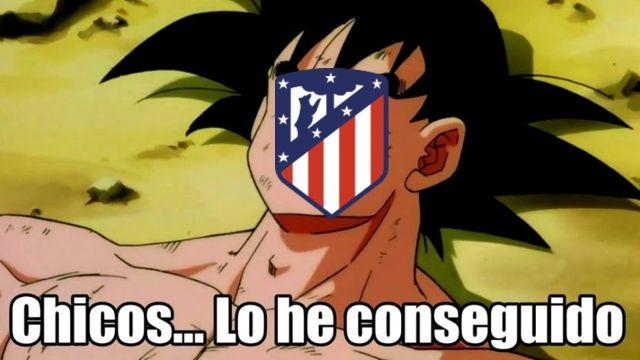 Atlético de Madrid memes campeón LaLiga