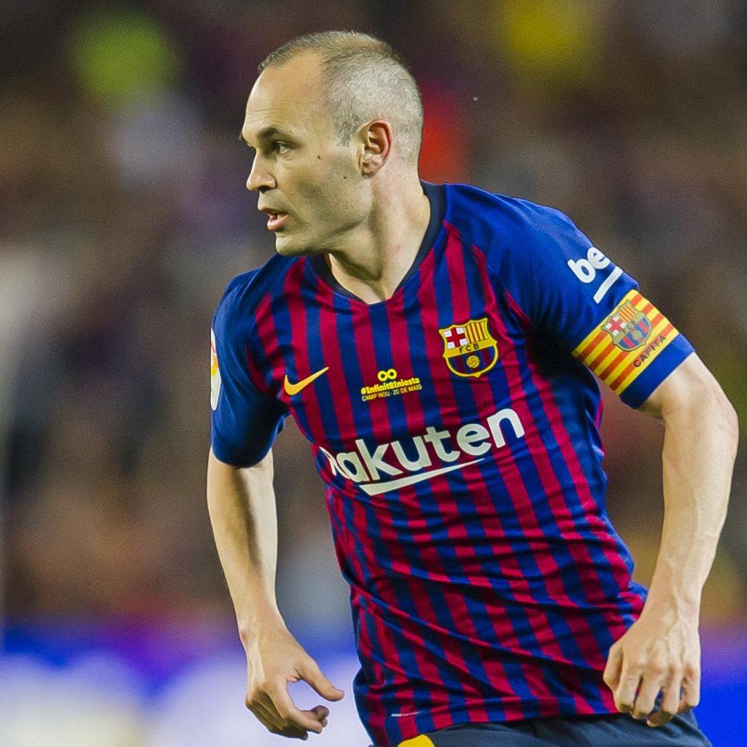Barcelona jugadores más partidos Andrés Iniesta