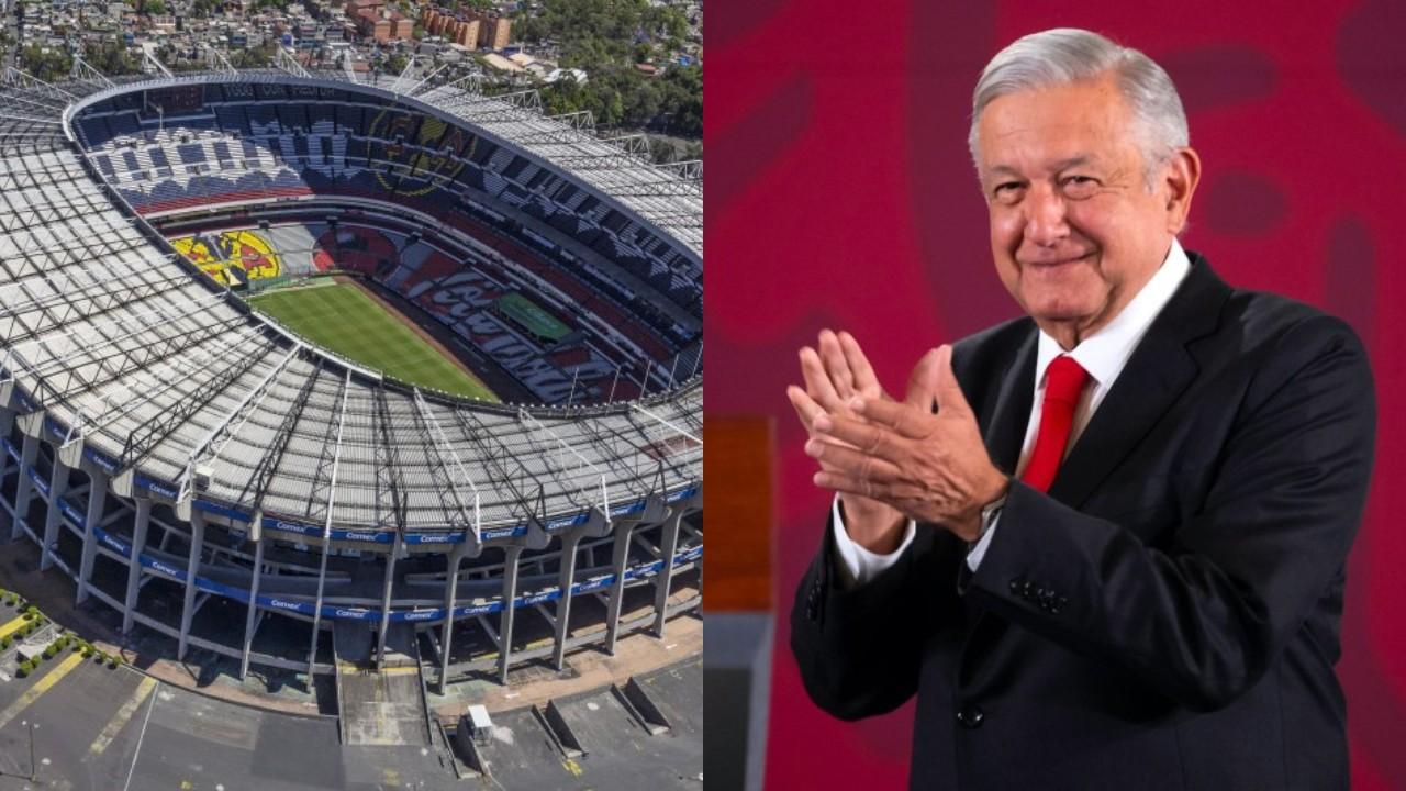 Rifa palco Estadio Azteca Amlo