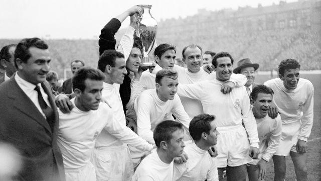 Champions League final 1960 Real Madrid Eintracht Frankfurt