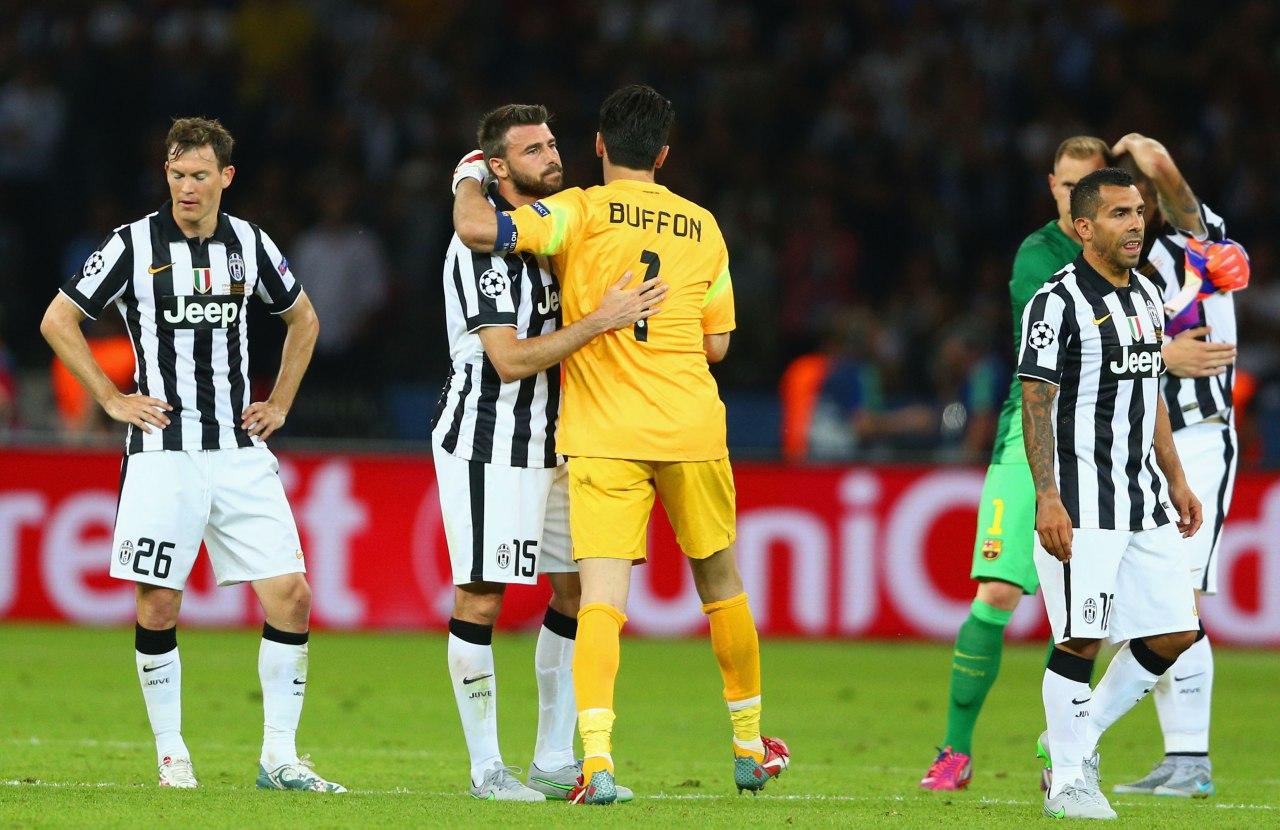 Champions League más finales perdidas 2015