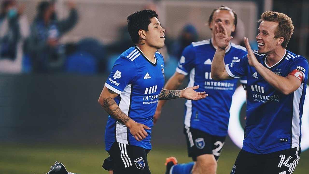 Chofis gol MLS 2021 San Jose Earthquakes Almeyda