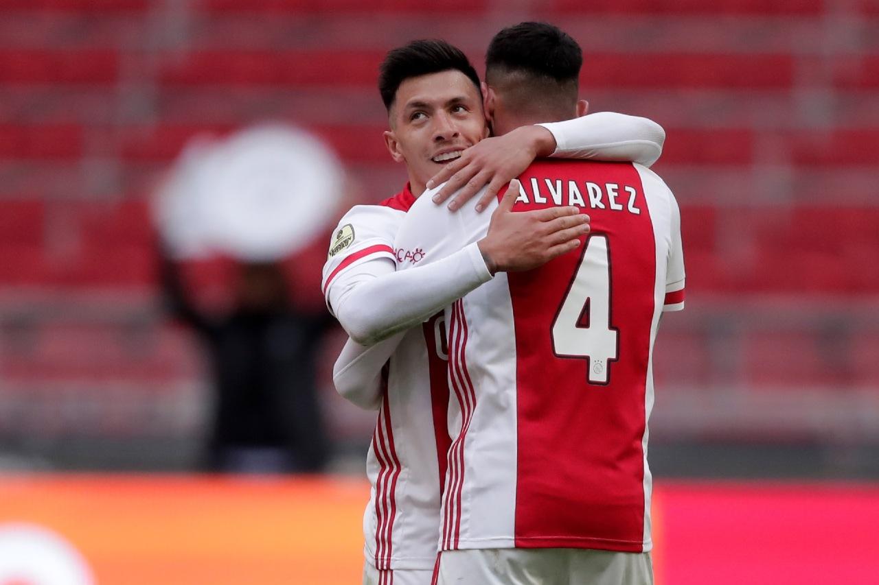 Edson Álvarez Ajax campeones Eredivisie