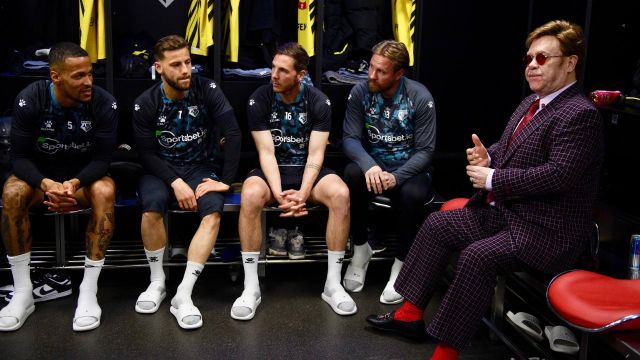 Elton John premios jugadores Watford ascenso Championship