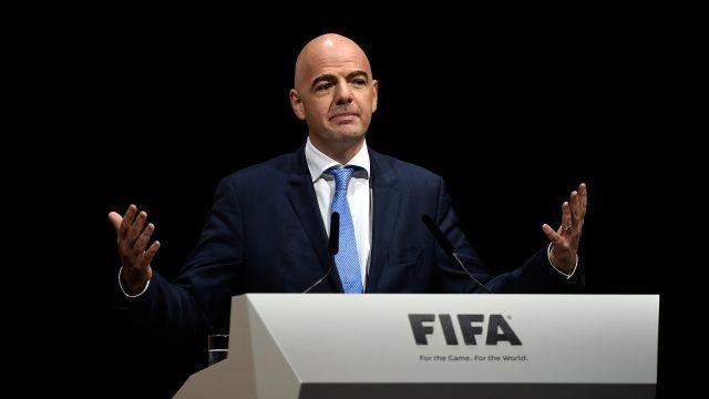 Gianni Infantino Mundial dos años Congreso FIFA